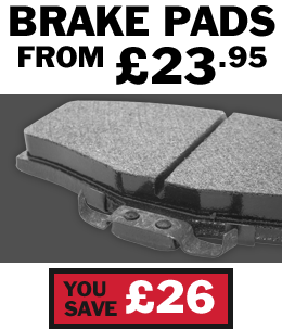Buy cheap car brake pads from £23.95 from Setyres saving £26