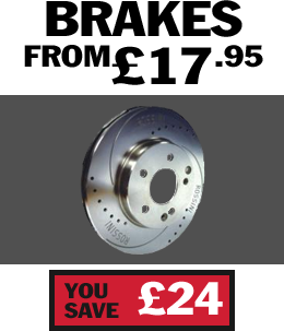 Brakes from just £17.95