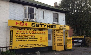 Setyres Epsom Surrey offer tyres, servicing, brakes, air conditioning, shocks, exhausts, batteries, major repairs, diagnostics and tracking
