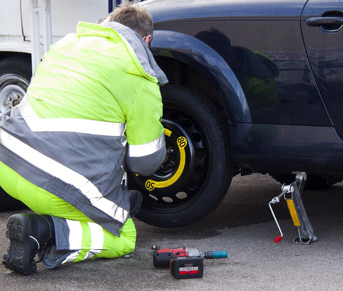 Spare tyres are useful as they can get you safely home or to a tyre specialist following tyre damage