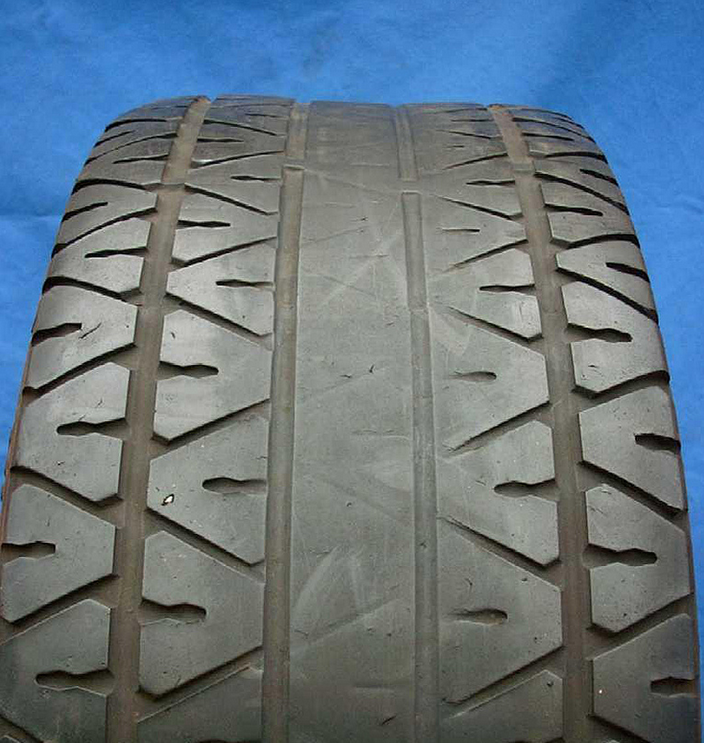 Example tyre wear images from Setyres